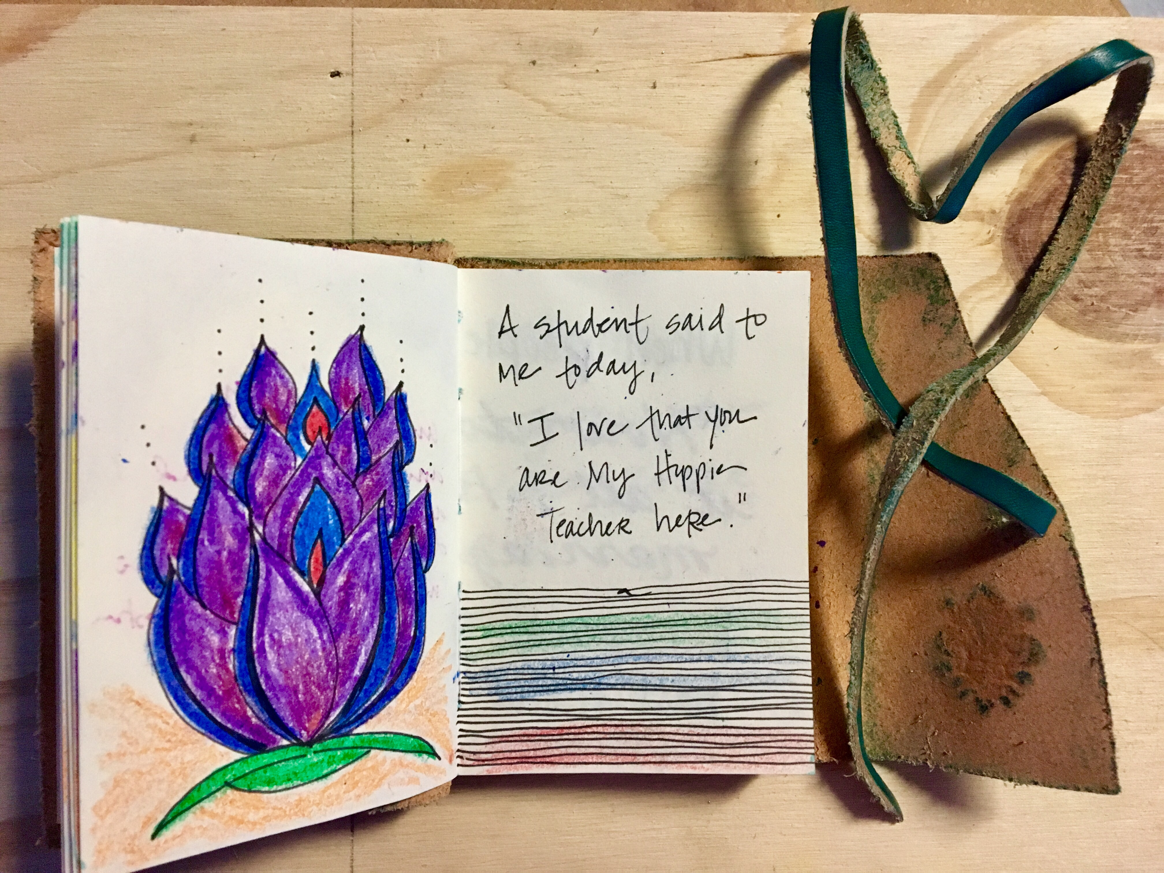 Little Leather Journal of Love – Journaling Mama